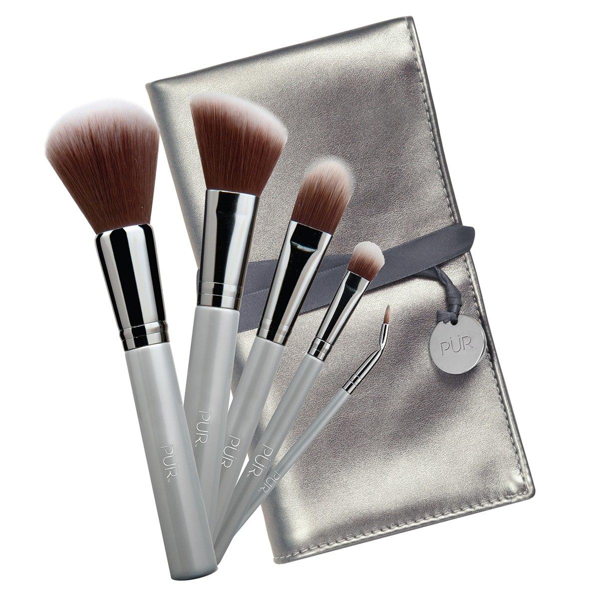 PÜR Pro Tools 5-Piece Brush Collection