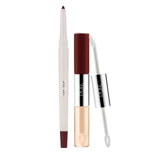 4-in-1 Lip Duo & Liner Bundle in Double Date/Vamp