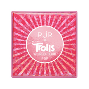 PÜR X TROLLS WORLD TOUR: Pop Travel-Sized Pressed Pigments Palette