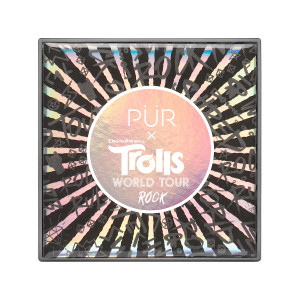 PÜR X TROLLS WORLD TOUR: Rock Travel-Sized Pressed Pigments Palette