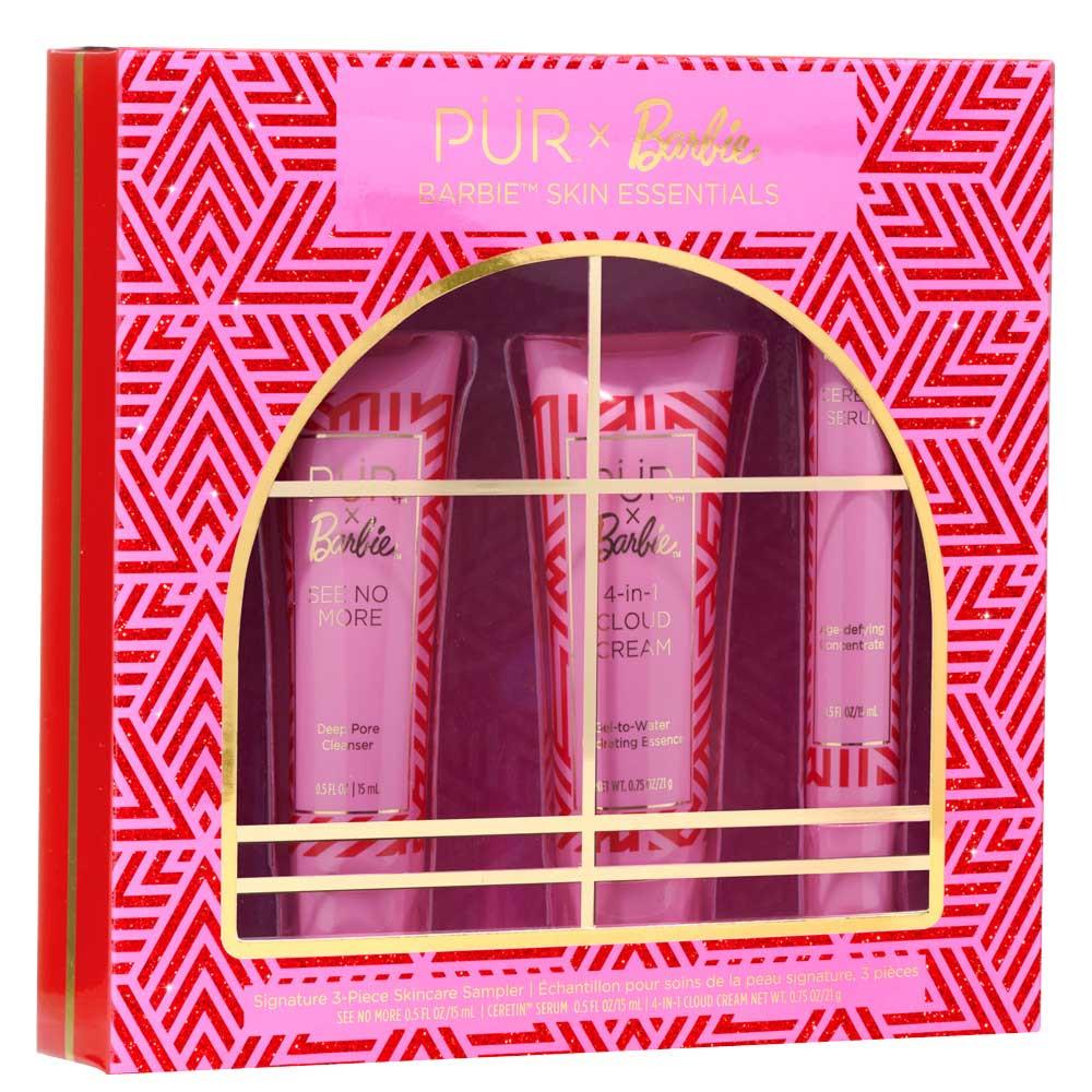 PÜR X Barbie™ Skin Essentials Signature 3-Piece Skincare Sampler