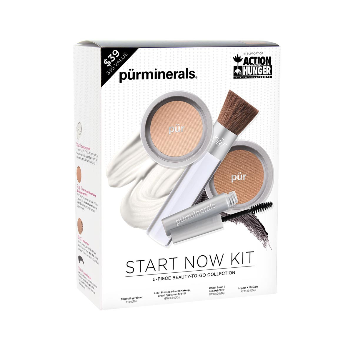 Start Now 5-Piece Beauty-to-Go Collection Tan