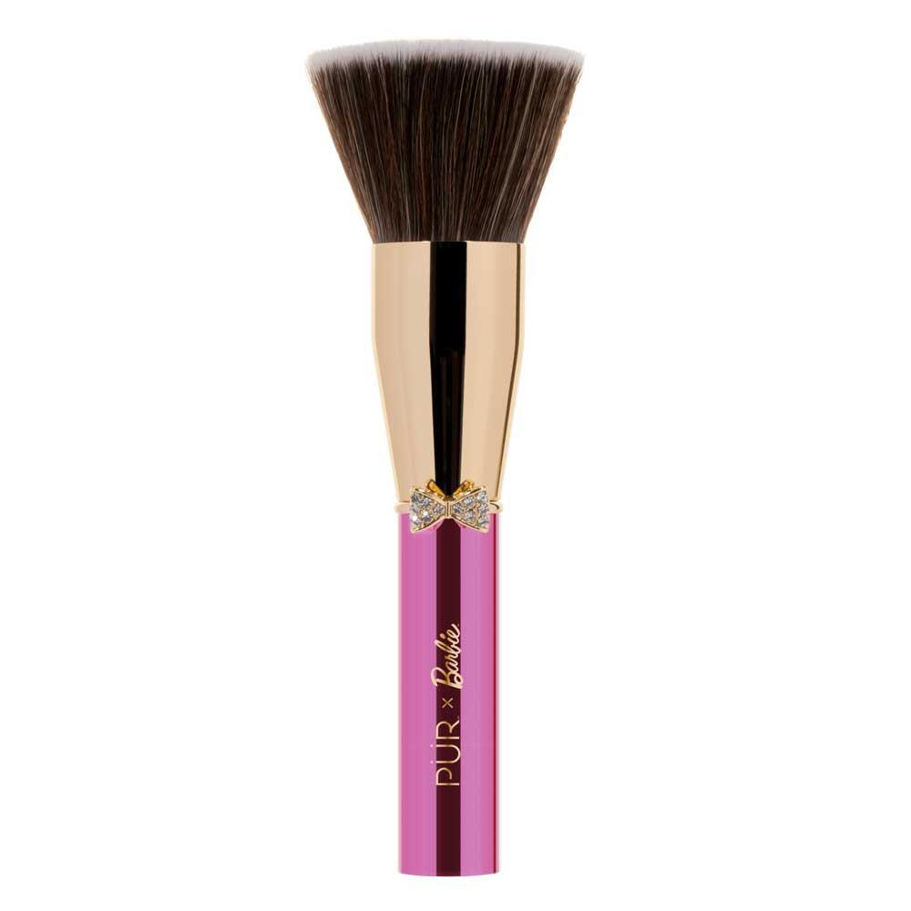 PÜR X Barbie™ Keepsake Kabuki Brush Signature Keepsake Kabuki Brush side view