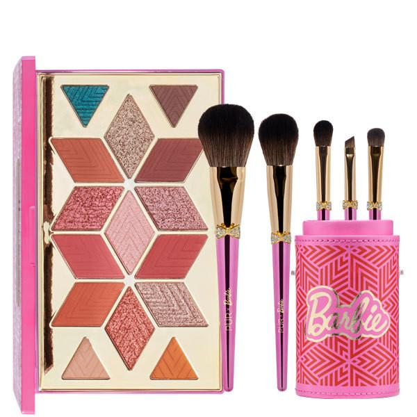 PÜR X Barbie™ Eyeshadow Palette & Brush Kit Bundle