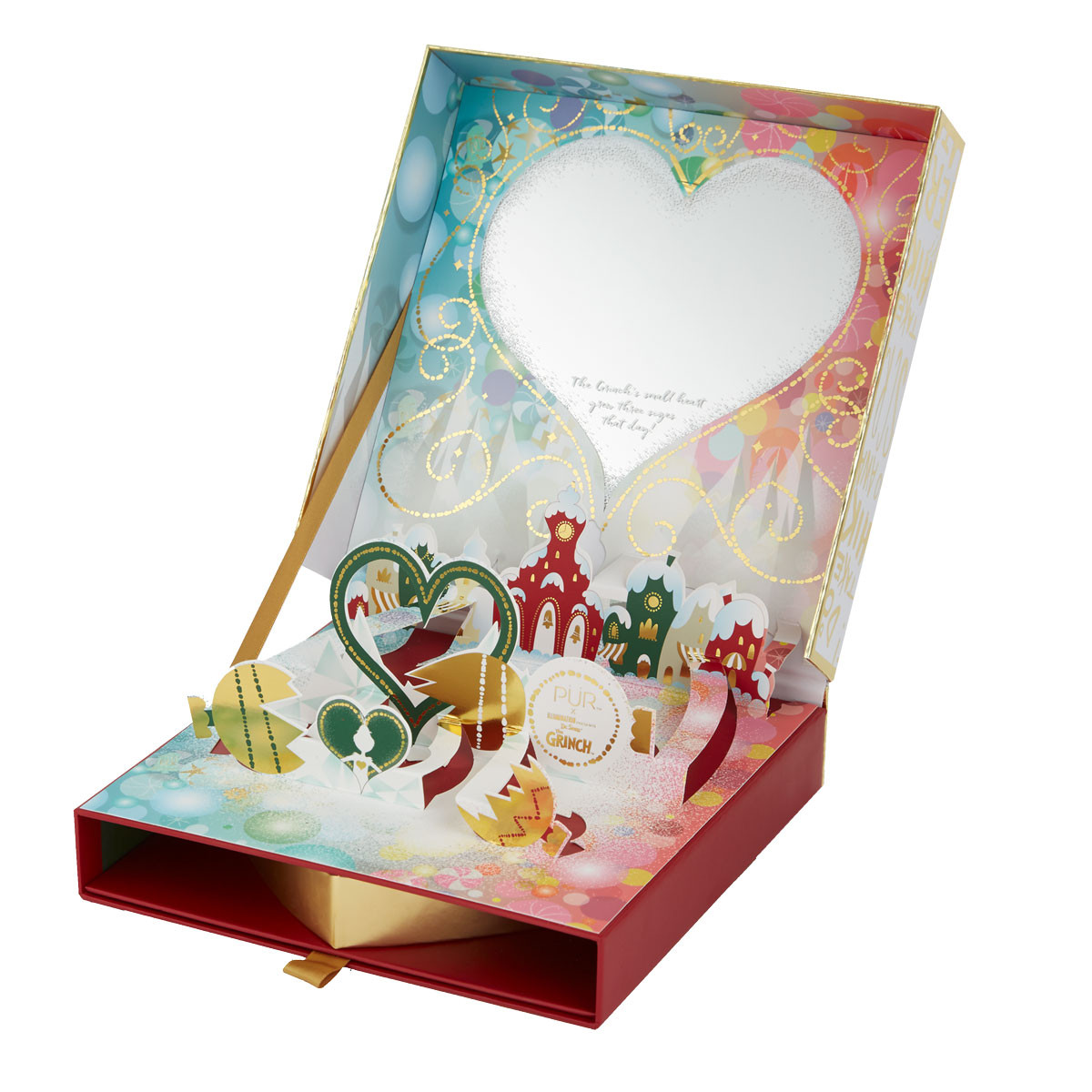 The Grinch™ Good Enough to Steal Face Palette & Color-Changing Lip Balm Set