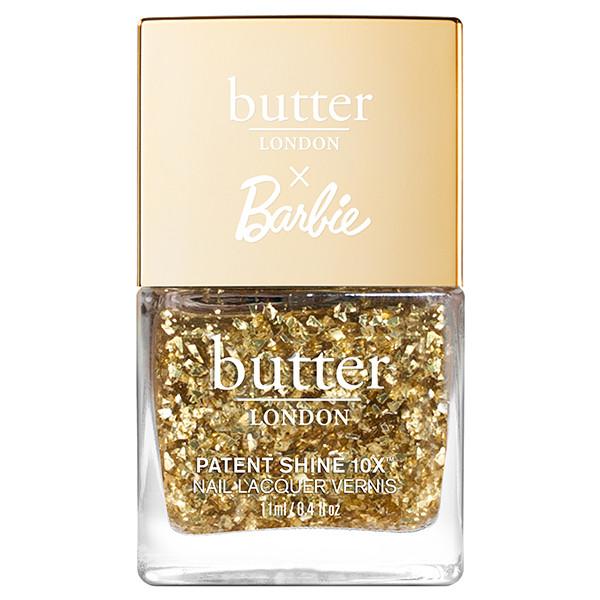 butter LONDON x Barbie™ 24K Crushed Diamonds Patent Shine 10X Nail Lacquer