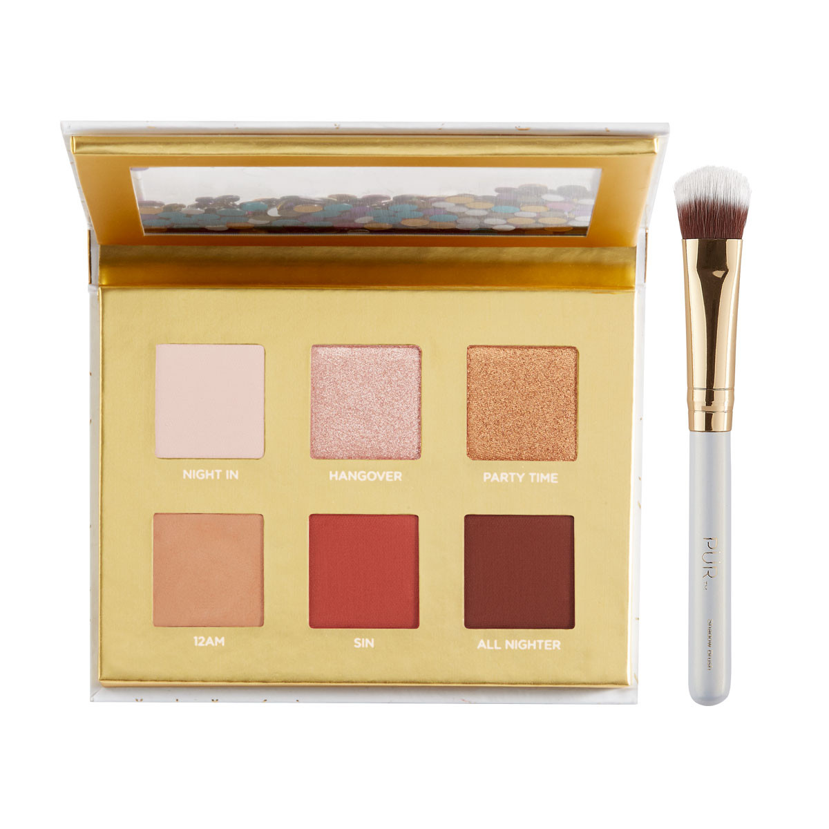 Let The Good Times Roll Travel Eyeshadow Palette + Shadow Brush