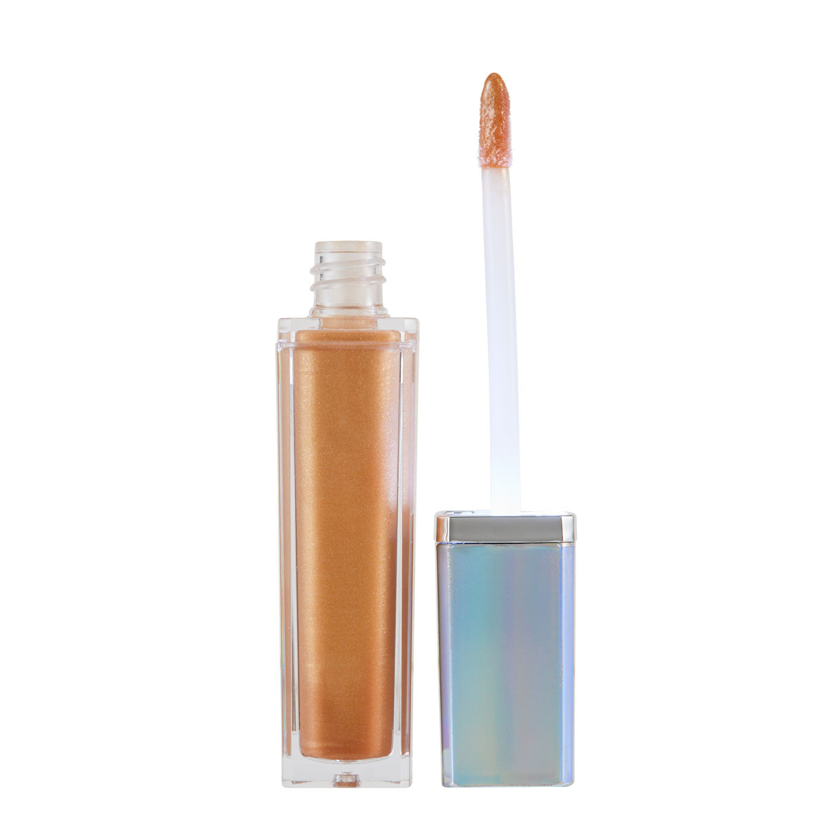 Out of the Blue Light Up High Shine Lip Gloss in Goals