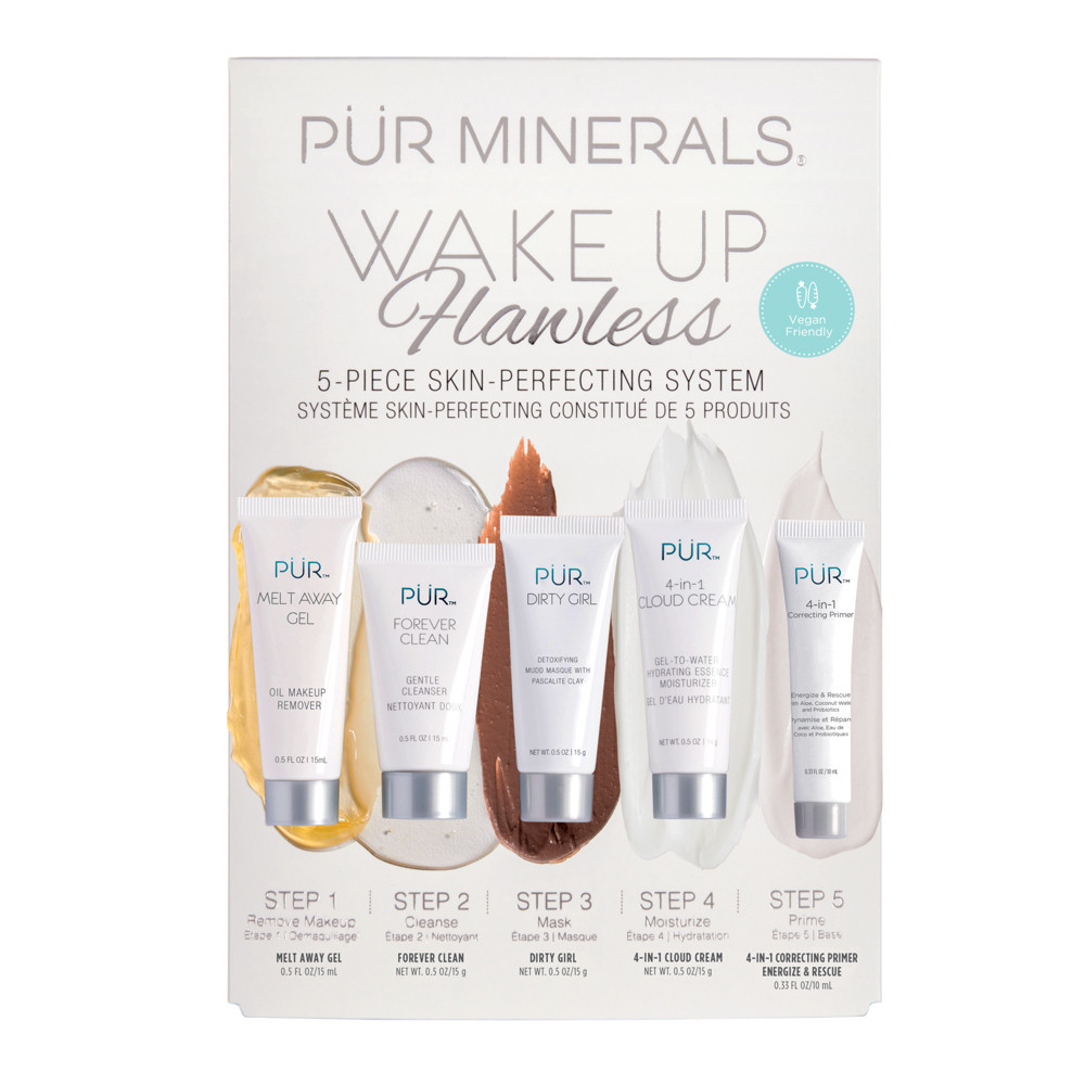 Wake Up Flawless 5-Piece Skin-Perfecting System