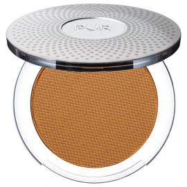 4-in-1 Pressed Mineral Makeup Foundation with Skincare Ingredients in Golden Dark/DG3