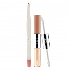 4-in-1 Lip Duo & Liner Bundle in Cream of the Crop/Tutu