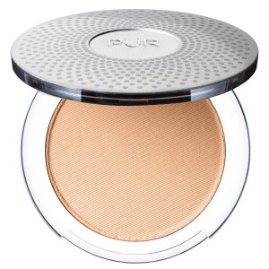 4-in-1 Pressed Mineral Makeup Foundation with Skincare Ingredients in Golden Medium/MN5