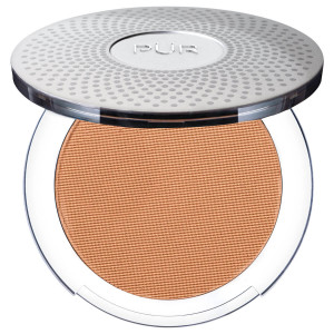 4-in-1 Pressed Mineral Makeup Foundation with Skincare Ingredients in Medium Tan/TP4