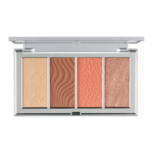 4-in-1 Skin Perfecting Powders Face Palette in Medium-Tan