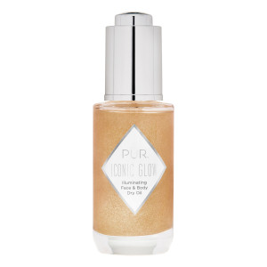 Crystal Clear Iconic Glow Illuminating Face and Body Dry Oil