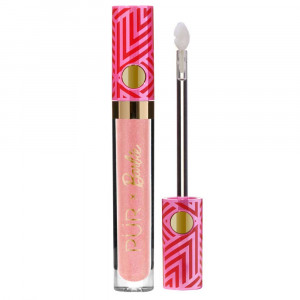 PÜR X Barbie™ Gloss Signature High-Shine Lip Gloss in Girl Gloss