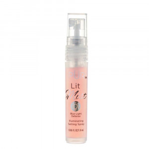 Lit Mist Illuminating Setting Spray Mini