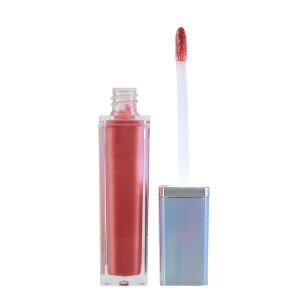 Out of the Blue Light Up High Shine Lip Gloss in Focused
